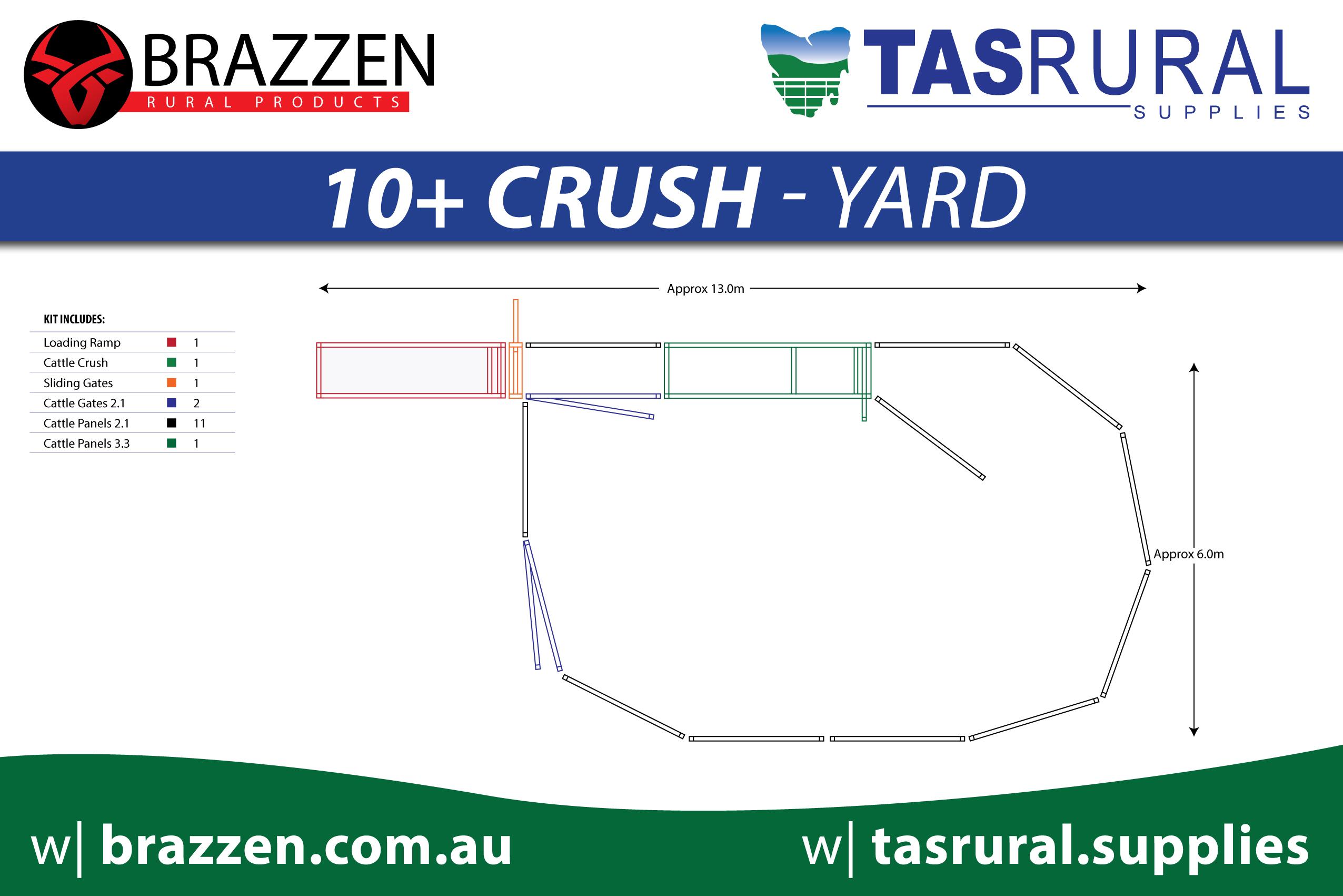 Tas Rural Yards 2019-10+ Crush yard