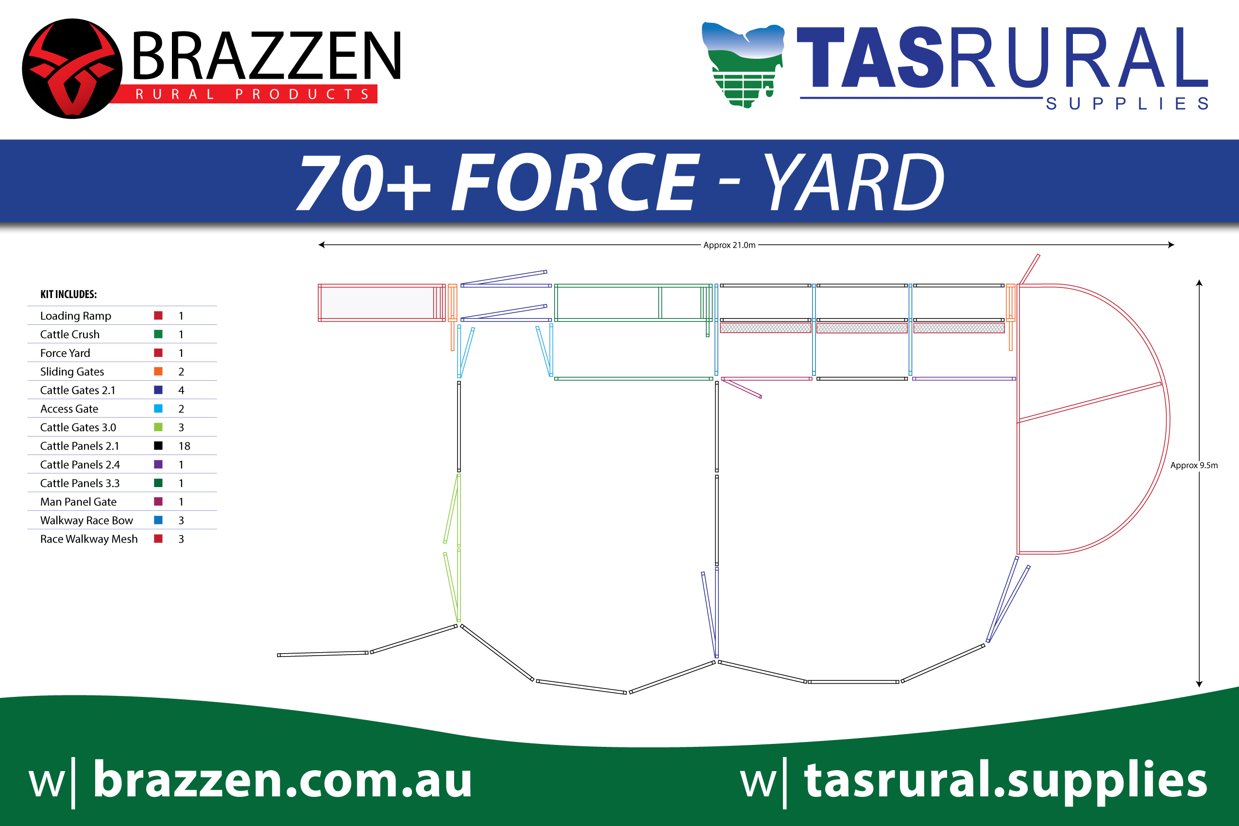 70+ force yard