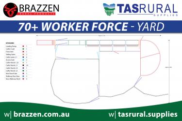70+ worker force yard