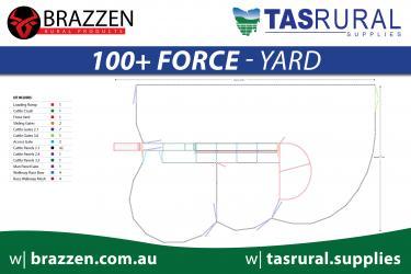 100+ force yard