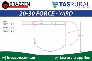 20-30 force yard