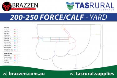 200-250 force calf yard