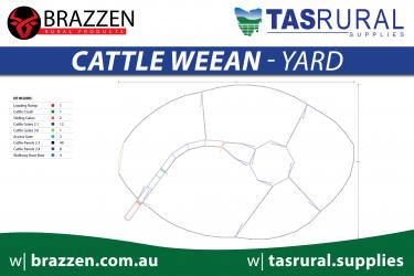 Cattle weean yard